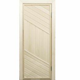Двери - Дверь банная глухая ПГ-8, 0