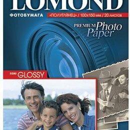 Бумага и пленка - Бумага Lomond, 0