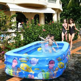 Средства для купания - Бассейн надувной для детей 260х165х60см, 0