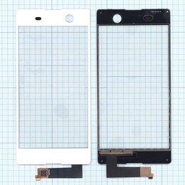 Дисплеи и тачскрины - Тачскрин для Sony Xperia M5 белое, 0