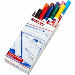 Письменные и чертежные принадлежности - Перманентных набор маркеров EDDING 400, 0