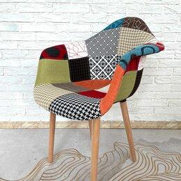 Стулья, табуретки - Стул - кресло Eames пэчворк . Усиленный каркас, 0