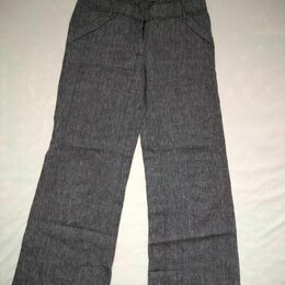 Брюки - Серые брюки, 0