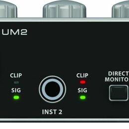 Оборудование для звукозаписывающих студий - Behringer U-Phoria UM2 USB Аудио интерфейс, 0