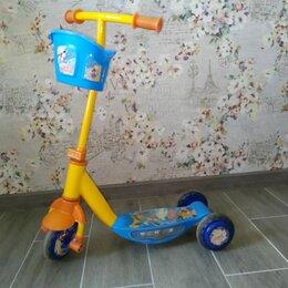 Самокаты - Самокат детский 3-х колесный, 0