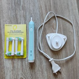 Электрические зубные щетки - Зубная щётка Oral B Pro 500 б/у, 0