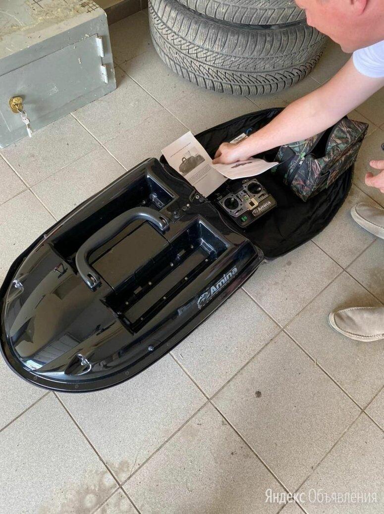 Радиоуправляемый катер без эхолота Amina РК4Э-2.4 по цене 30000₽ - Радиоуправляемые игрушки, фото 0