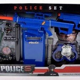 """Полицейские и шпионы - Набор """"Полицейский"""", на батарейках, 13 предметов, арт. 270-4, 0"""