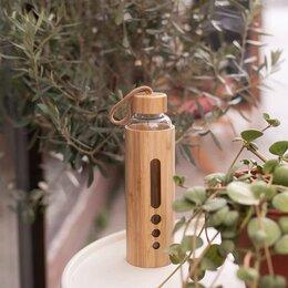 Шейкеры и бутылки - Бамбуковые бутылки для воды, 0