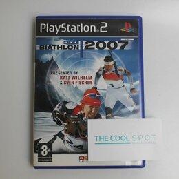 Игры для приставок и ПК - Игра RTL Biathlon 2007 для Playstation 2, 0