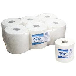 Туалетная бумага и полотенца - Полотенца Терес Комфорт maxi Т-0153 1 слой 250 м 6 шт, 0