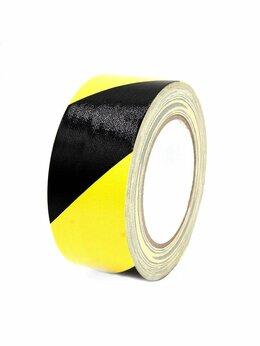 Изоляционные материалы - Лента сигнальная 50ммх 25м желто-черная Момент, 0