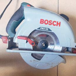 Дисковые пилы - Дисковая пила Bosch PKS 55, 0