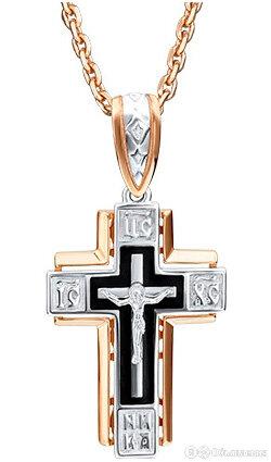 Крестик PLATINA Jewelry 03-2036-00-000-1111-25 по цене 35950₽ - Кулоны и подвески, фото 0