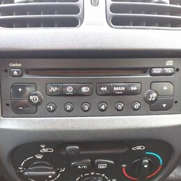 Автоэлектроника и комплектующие - Штатная магнитола Peugeot 206, 0