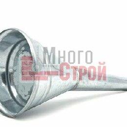 Кровля и водосток - Воронка металлическая прямая D 95, носик d 15мм (малая), 0
