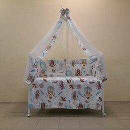 Постельное белье - Набор в кроватку 7 предметов Воздушные шары. /Новый/, 0