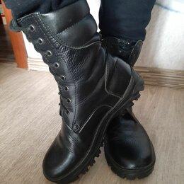 Ботинки - Ботинки берцы кожа натуральная р 38, 0