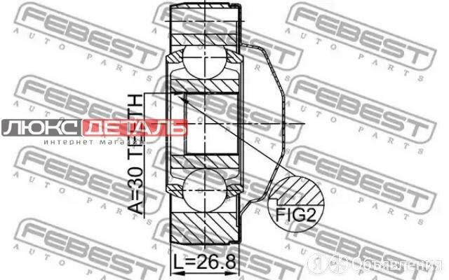 FEBEST 1611164SHA Шрус карданного вала 30x81  по цене 6674₽ - Подвеска и рулевое управление , фото 0