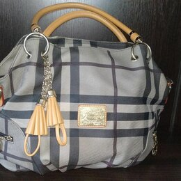 Сумки - Клетчатая женская сумка hamiroo, 0