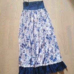 Юбки - юбка-сарафан, 0