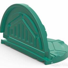 Комплектующие водоснабжения - Крышка (люк) пластиковая для дачного  колодца Роса, складная, 0