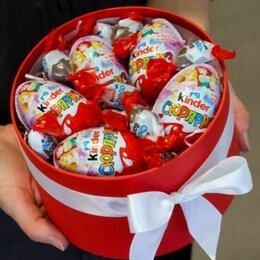 Киндер-сюрприз - Киндер сюрпризы в подарочной коробке, 0