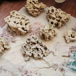 Декорации для аквариумов и террариумов - Камни (песчанник) для аквариума 27 кг, 0