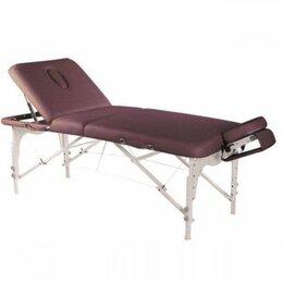 Массажные столы и стулья - Складной массажный стол 4-х секционный/ Массажная кушетка/Стол для массажа, 0