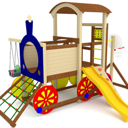 Игровые и спортивные комплексы и горки - Детская площадка Cruiser 1, 0