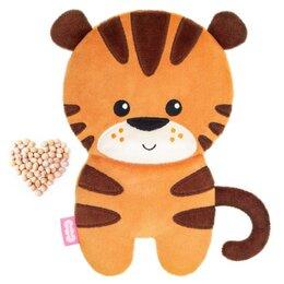 Мягкие игрушки - Мягкая игрушка-грелка 'Тигр Ли' с вишневыми косточками, 23,5 см 712, 0