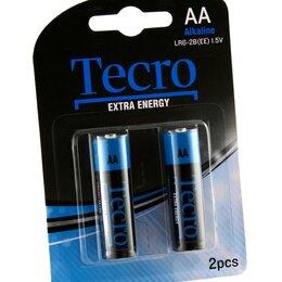 Батарейки - Элементы питания AA Tecro Alkaline LR6-2B(EE) 2шт., 0