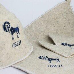 Аксессуары - Набор шапки для бани и сауны, 0