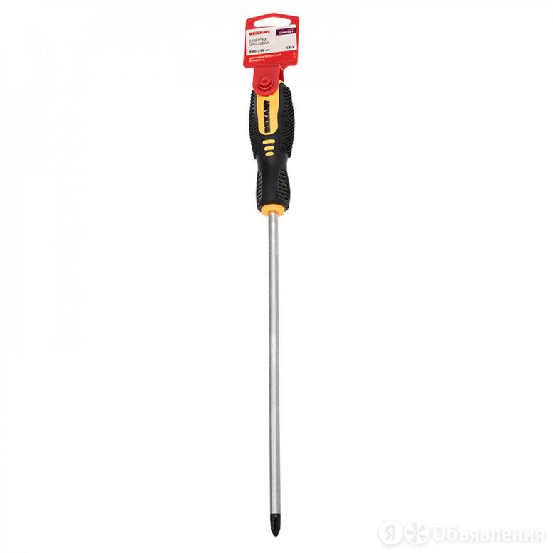 Крестовая отвертка REXANT 12-6411 по цене 201₽ - Наборы инструментов и оснастки, фото 0