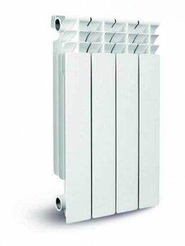 Радиаторы - BIPLUS Радиатор биметаллический Biplus Dune 350/80  8-секционный (117 Вт), 0
