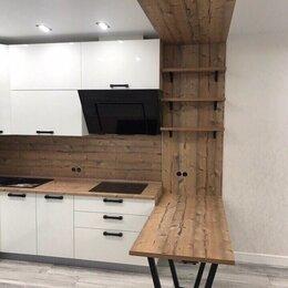 Мебель для кухни - Современный дизайн интерьера гостиной совмещенной с кухней, 0