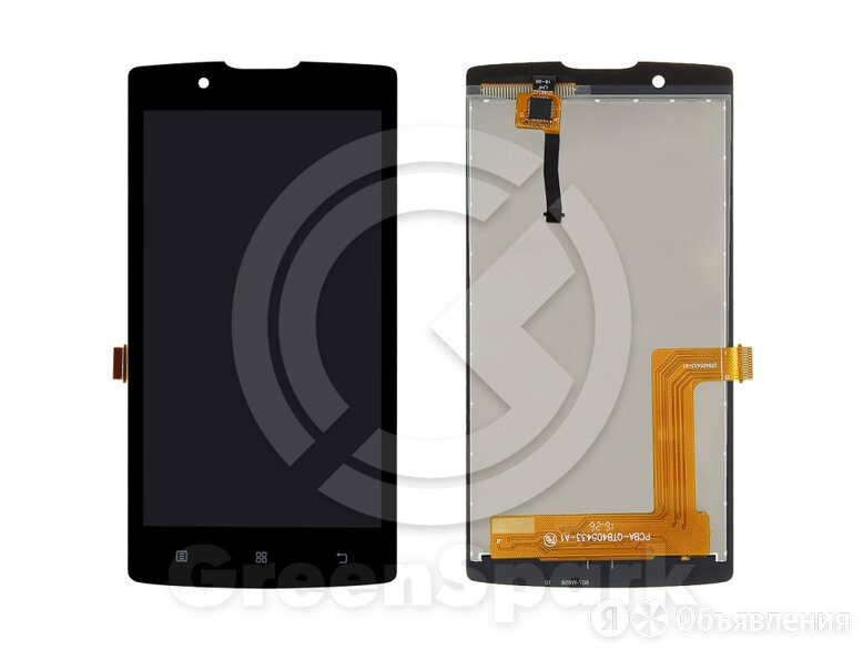 Дисплей для Lenovo A1010 A Plus/A Vibe B +тач чер по цене 590₽ - Дисплеи и тачскрины, фото 0