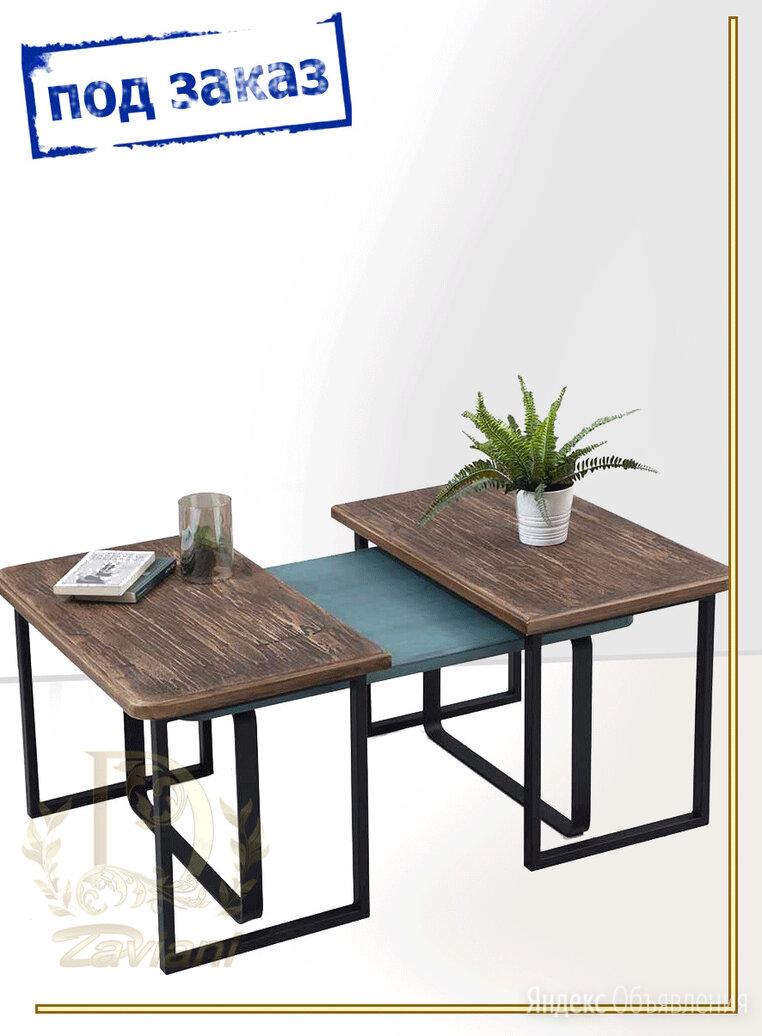 """Стол трансформер """"Daviani"""" в стиле LOFT (арт:3557) по цене 34700₽ - Столы и столики, фото 0"""