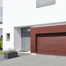 Ламинат - Секционные гаражные ворота, 0