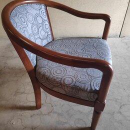 Кресла - Кресло чайное С-5 деревянное с мягкой спинкой и сиденьем, 0