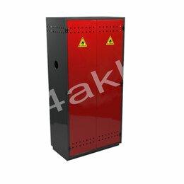 Мебель для учреждений - Металлический шкаф для двух кислородных баллонов МШ-К2-01, 0