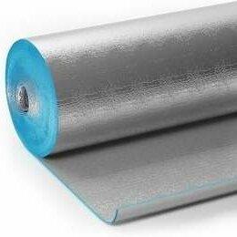 Изоляционные материалы - Пенофол самоклеящийся 10мм 9 м2, 0