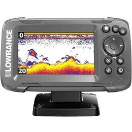 Эхолоты и комплектующие - Эхолот Lowrance HOOK2-4x GPS Bullet Skimmer CE ROW, 0