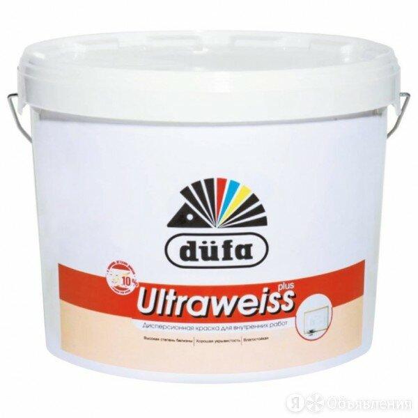 краска в/д dufa retail ultraweiss plus 2,5л по цене 671₽ - Краски, фото 0