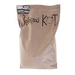 Наполнители для туалетов - Наполнитель кукурузный 'Золотой кот', гранулированный 5 мм, 12 кг, 0