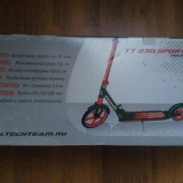 Самокаты - Самокат Tech Team TT 230 sport pro выдерживает 120 кг, 0