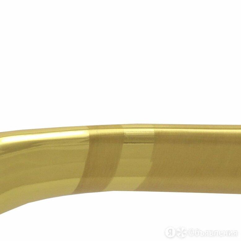 Дверная ручка Vantage V77C на круглой розетке матовое золото по цене 899₽ - Ручки дверные, фото 0