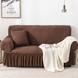 Чехлы для мебели -  Чехол на диван Классика с оборкой, 0