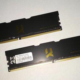Модули памяти - Оперативная память 16 Гб (2*8) Goodram Iridium Pro DDR4 3600MHz 17-19-19 SR, 0