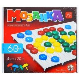 Мозаика - Мозаика круглая, 60 элементов по 20мм, 4 цвета, 0